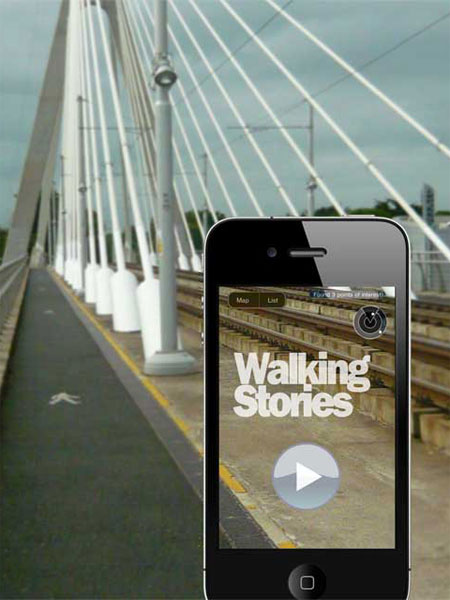 Walking Stories soundwalk app