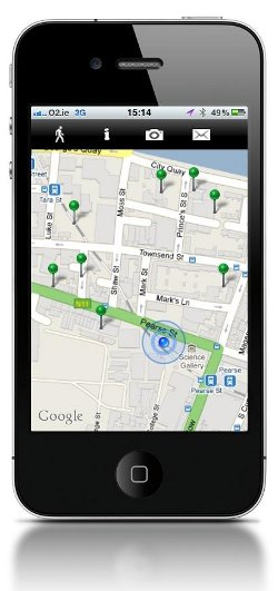 WalkSpace iphone app